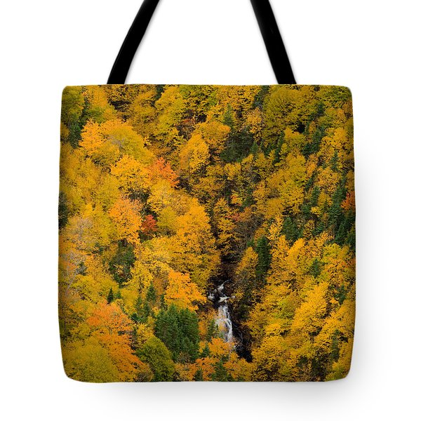 Autumn Colour And Waterfalls, Cape Tote Bag by John Sylvester