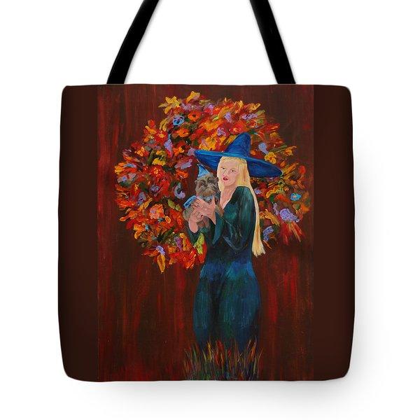 Autumn Fantasy Tote Bag by Gail Daley