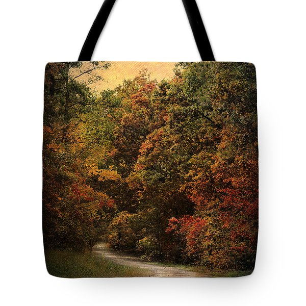 Autumn Forest 1 Tote Bag by Jai Johnson