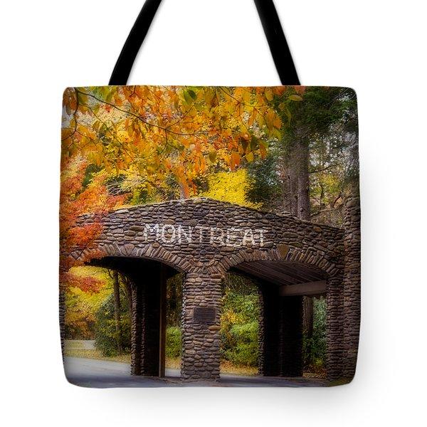 Autumn Gate Tote Bag by Joye Ardyn Durham