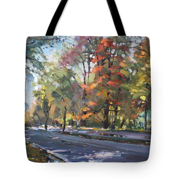 Autumn In Niagara Falls Park Tote Bag by Ylli Haruni