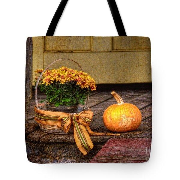 Autumn Tote Bag by Lois Bryan