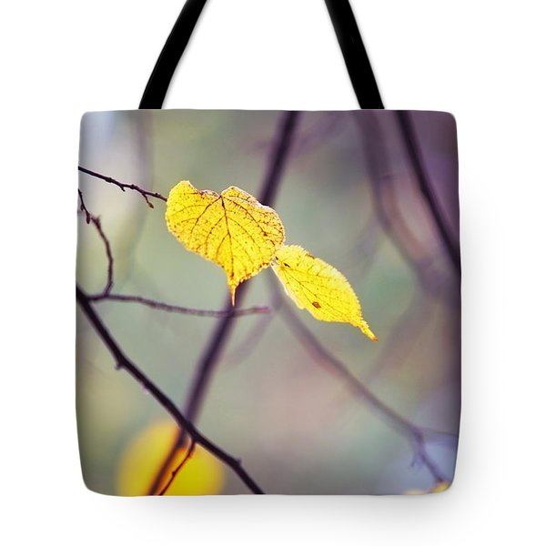 Autumn Nostalgie Tote Bag by Jenny Rainbow