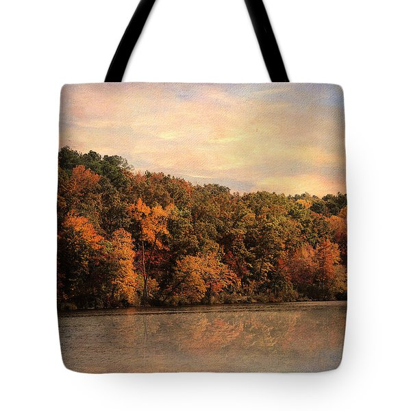 Autumn Reflections 1 Tote Bag by Jai Johnson