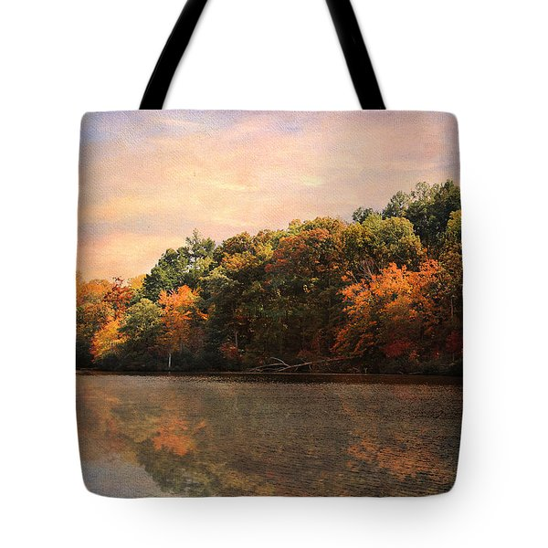 Autumn Reflections 2 Tote Bag by Jai Johnson