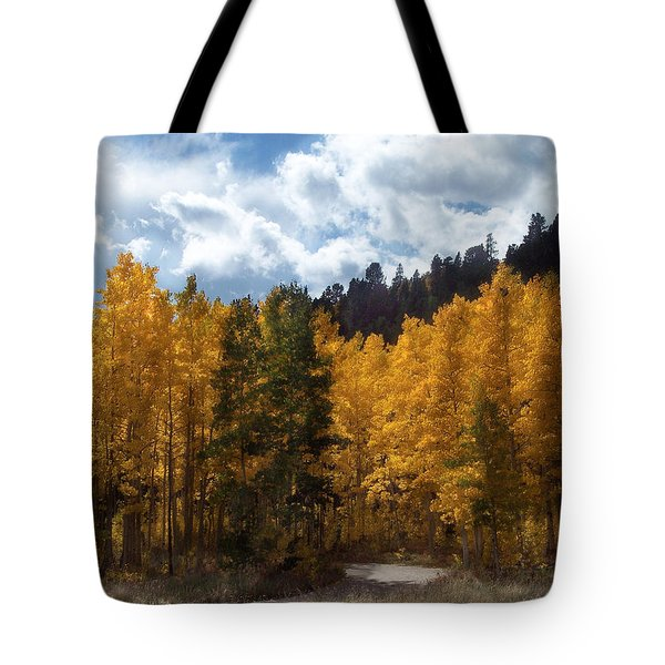 Autumn Splendor Tote Bag by Carol Cavalaris