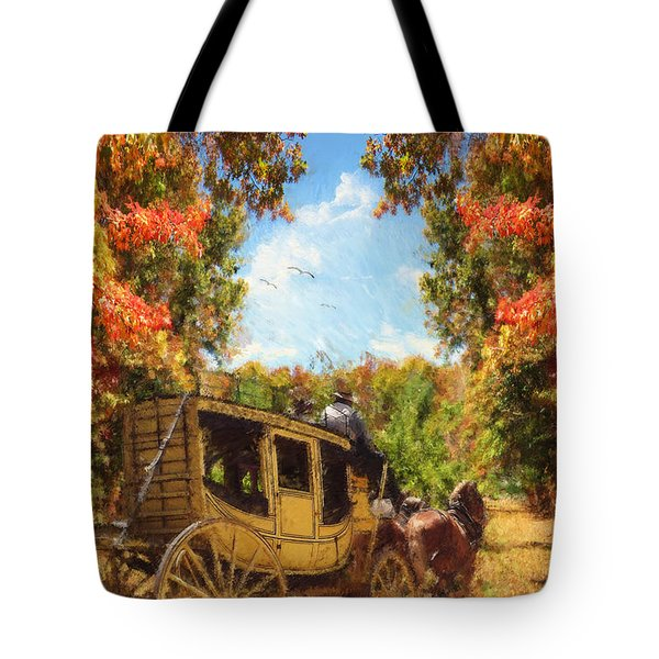 Autumn's Essence Tote Bag by Lourry Legarde