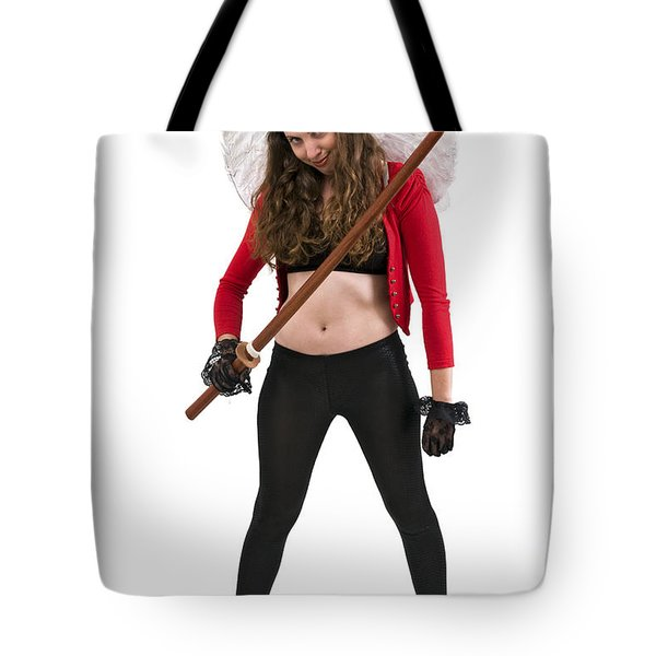 Avenging Angle With A Sword  Tote Bag by Ilan Rosen