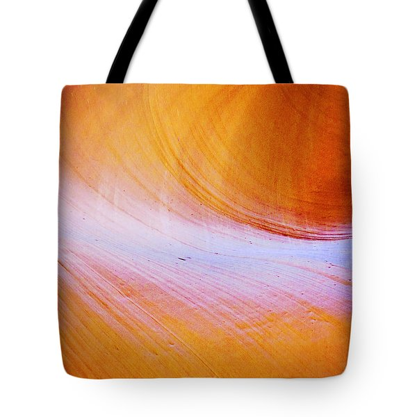 Awe-inspiring Antelope Canyon Tote Bag by Christine Till
