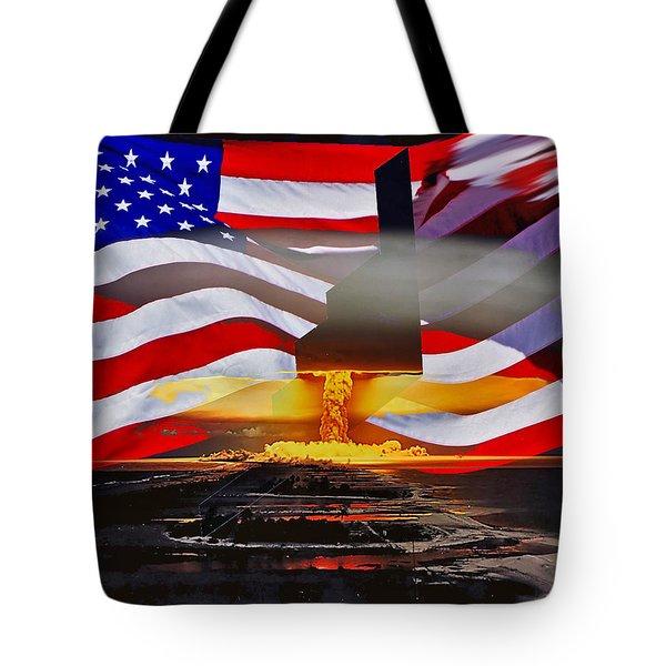 B2 Nuclear Power Tote Bag by Lamyl Hammoudi