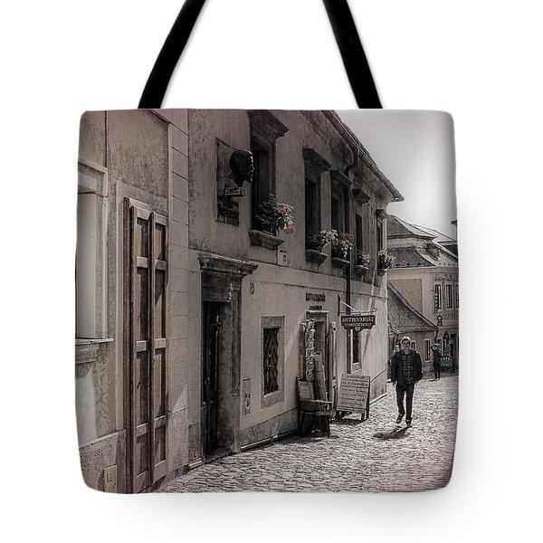 Back Street Boy Tote Bag by Joan Carroll