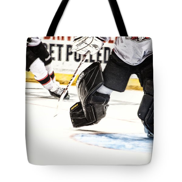 Back To The Crease Tote Bag by Karol  Livote