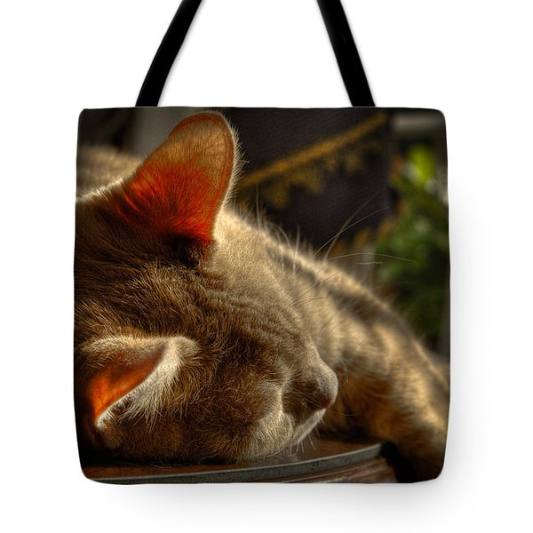 Backlit Ears Tote Bag by David Patterson