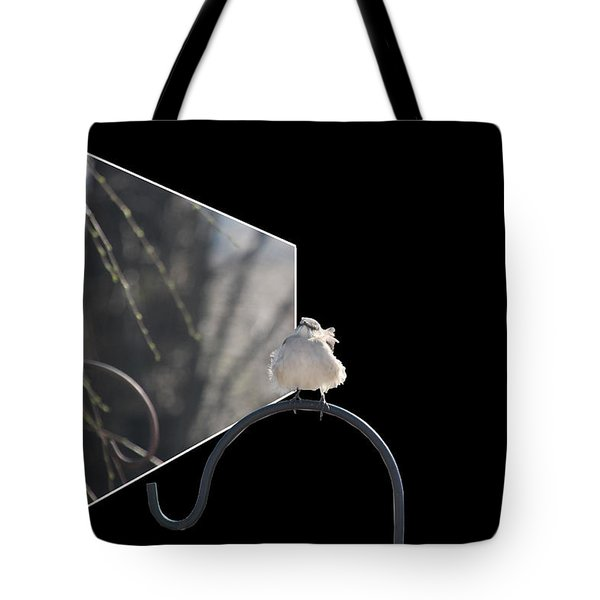 Bad Feather Day Tote Bag by EricaMaxine  Price