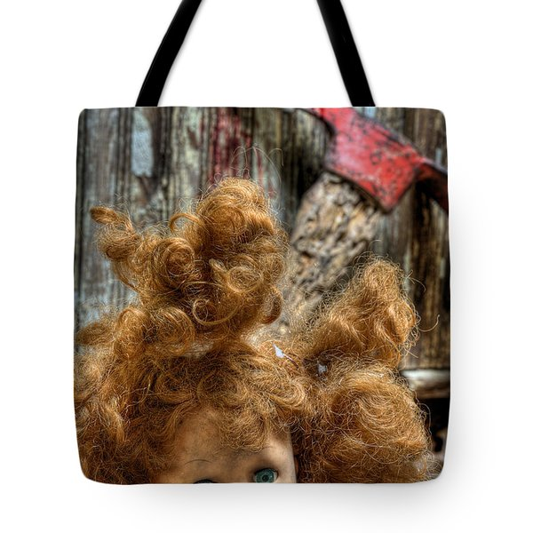 Bad Hair Day Tote Bag by JC Findley