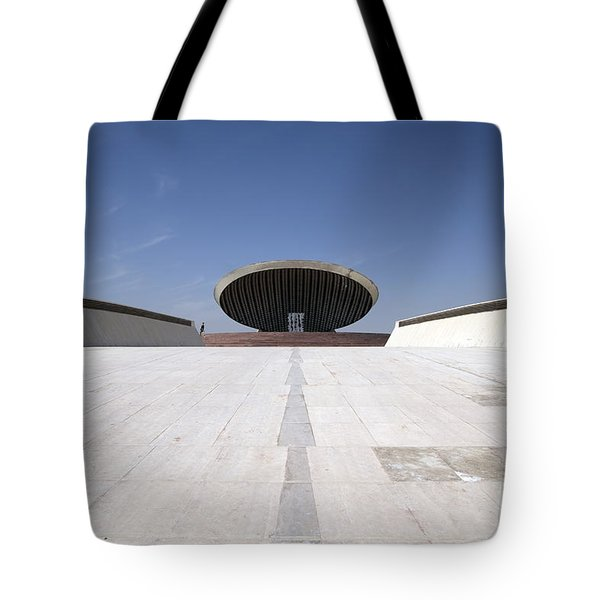 Baghdad, Iraq - The Ramp That Leads Tote Bag by Terry Moore