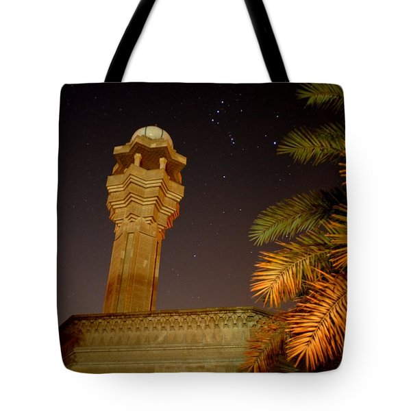 Baghdad Night Sky Tote Bag by Rick Frost