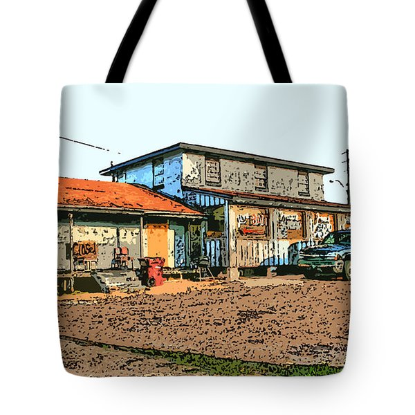 Bait Shop Tote Bag by Barry Jones