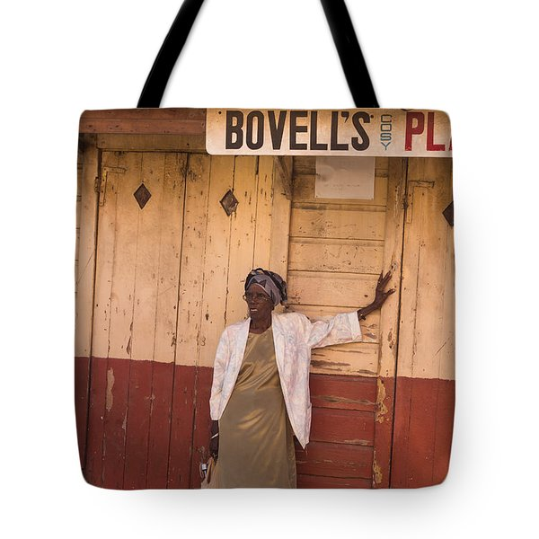Bajan Lady Of Barbados Tote Bag by Rene Triay Photography