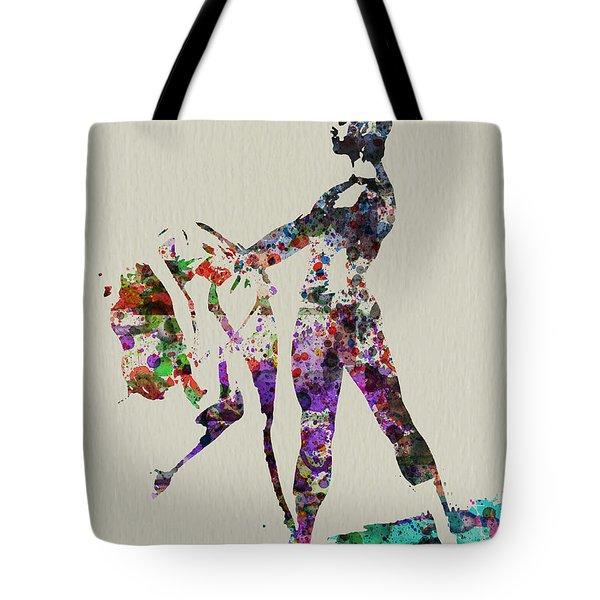 Ballet Dance Tote Bag by Naxart Studio