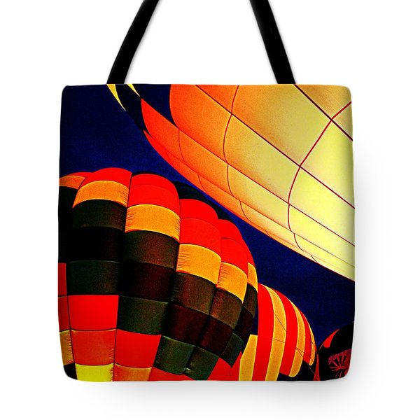 Balloon Glow 1 Tote Bag by Marty Koch