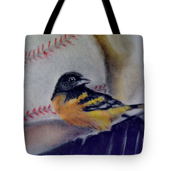 Baltimore Orioles Tote Bag by AE Hansen