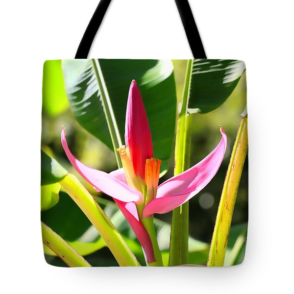 Banana Bloom Tote Bag by Cheryl Young