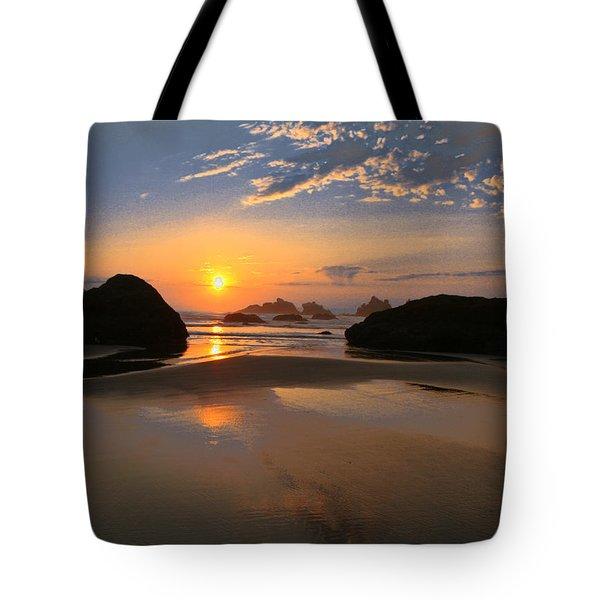 Bandon Scenic Tote Bag by Jean Noren