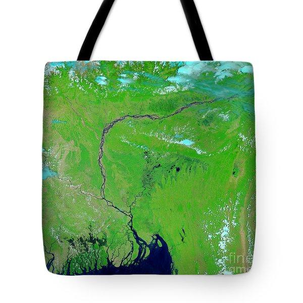 Bangladesh Tote Bag by NASA