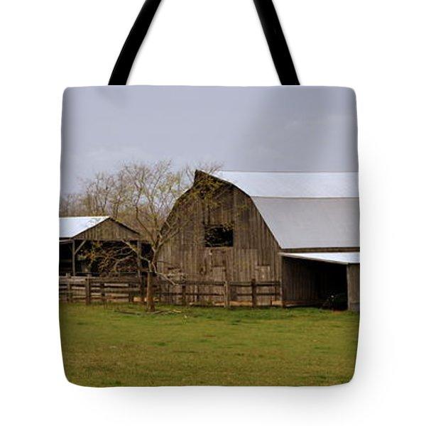 Barn In The Ozarks Tote Bag by Marty Koch