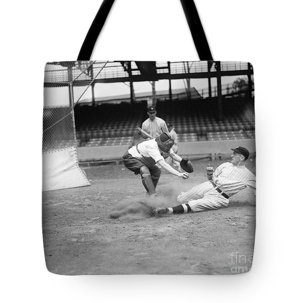 Baseball Game, C1915 Tote Bag by Granger