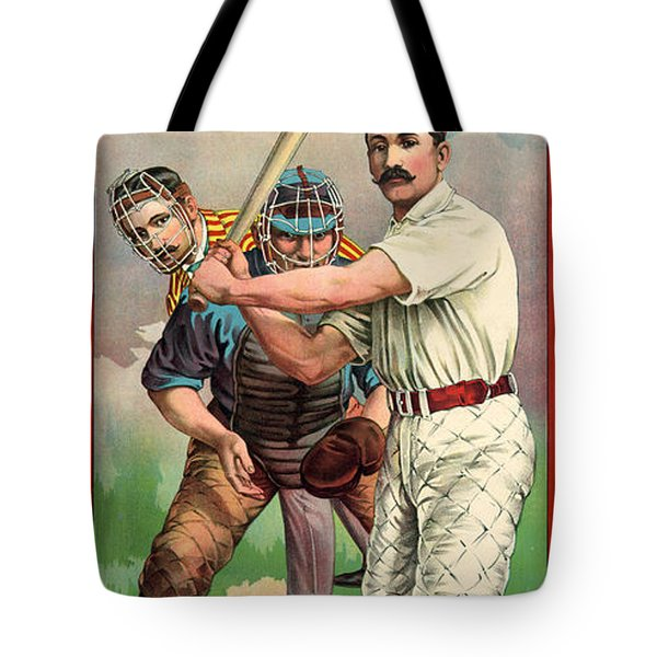 Baseball Player, C1895 Tote Bag by Granger