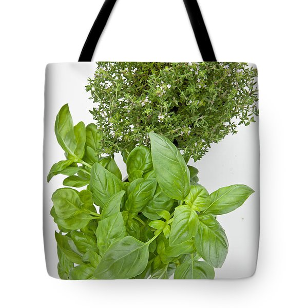 Basil and thyme Tote Bag by Joana Kruse