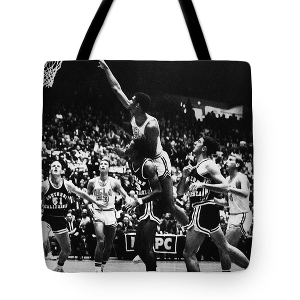 Basketball Game, 1966 Tote Bag by Granger