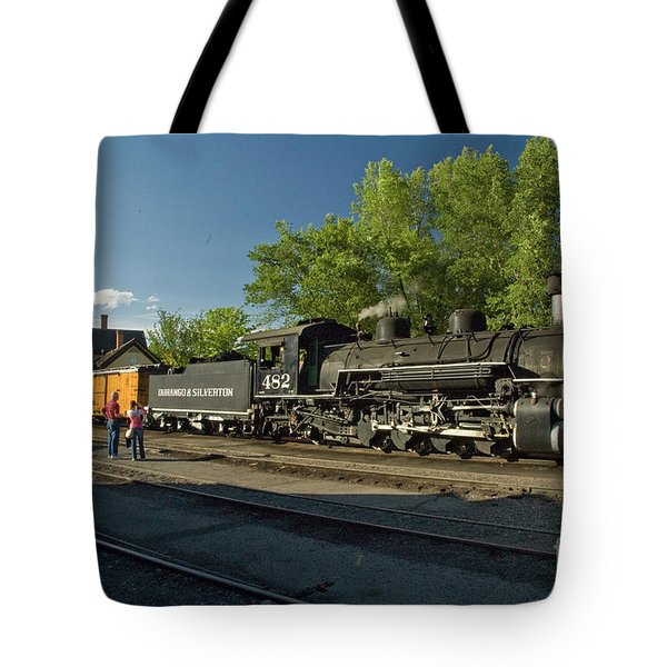Basking In The Light Tote Bag by Tim Mulina