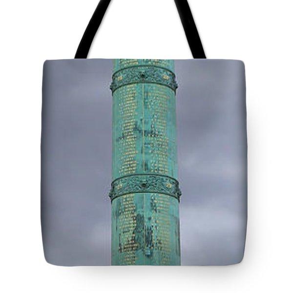 Bastille Paris Tote Bag by Andrew Fare