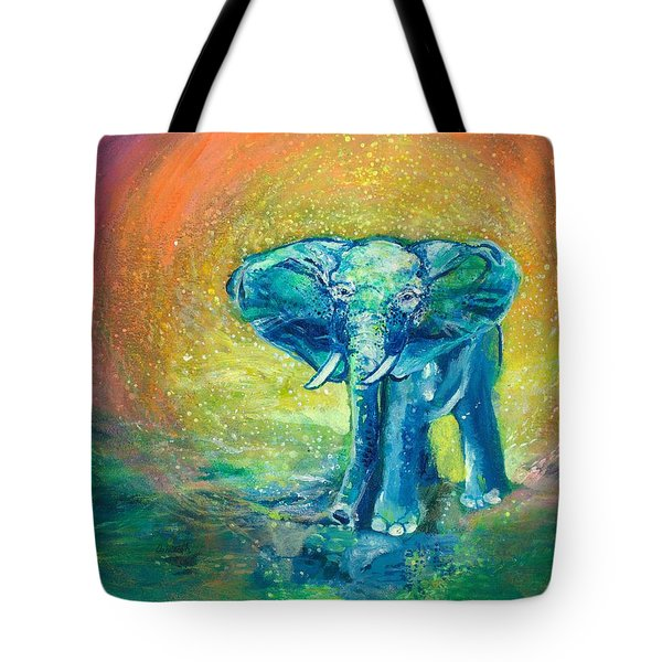 Bathe Me In Thy Light Tote Bag by Ashleigh Dyan Bayer
