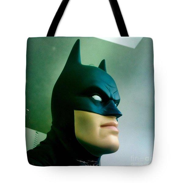 Batman aka The Dark Knight Tote Bag by Nina Prommer