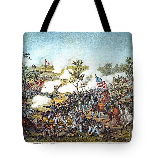 Battle Of Atlanta, 1864 Tote Bag by Granger