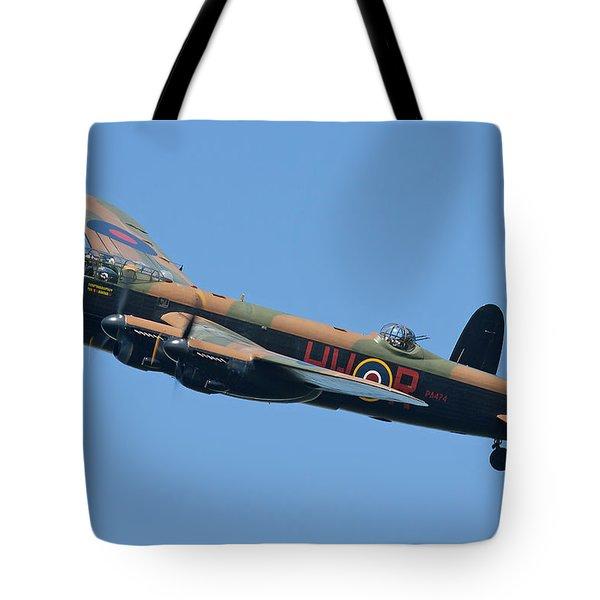 Bbmf Lancaster Bomber 2 Tote Bag by Ken Brannen