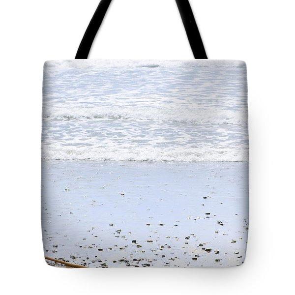 Beach Detail On Pacific Ocean Coast Tote Bag by Elena Elisseeva