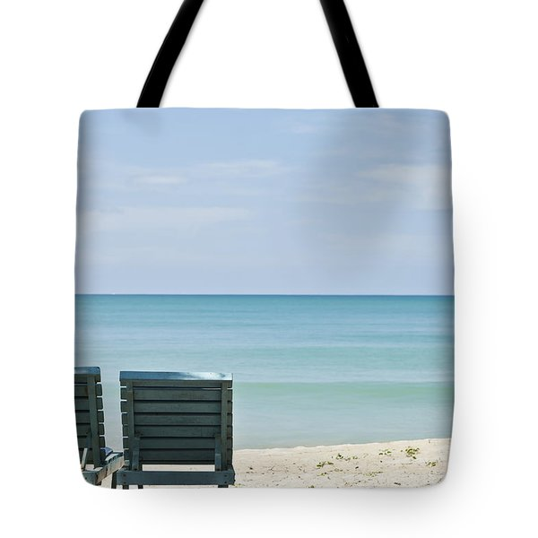 Beach Life Tote Bag by Nomad Art And  Design