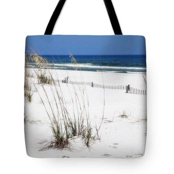 Beach No. 5 Tote Bag by Toni Hopper