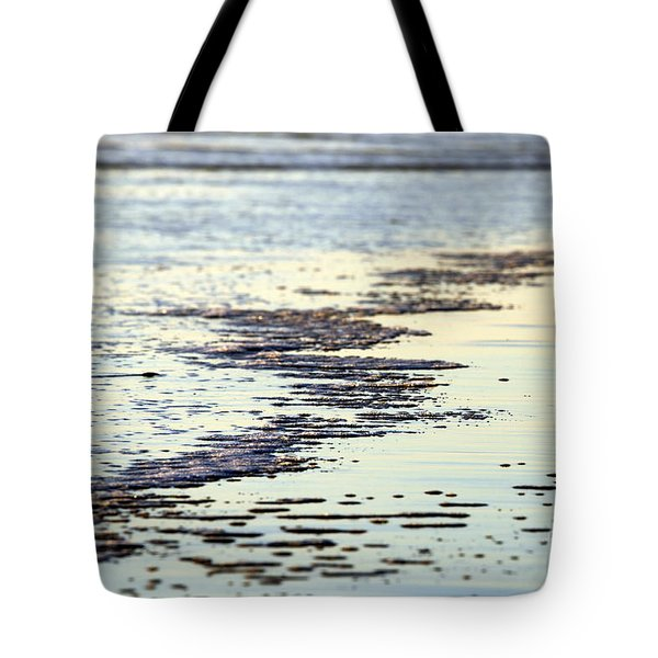 Beach Water Tote Bag by Henrik Lehnerer