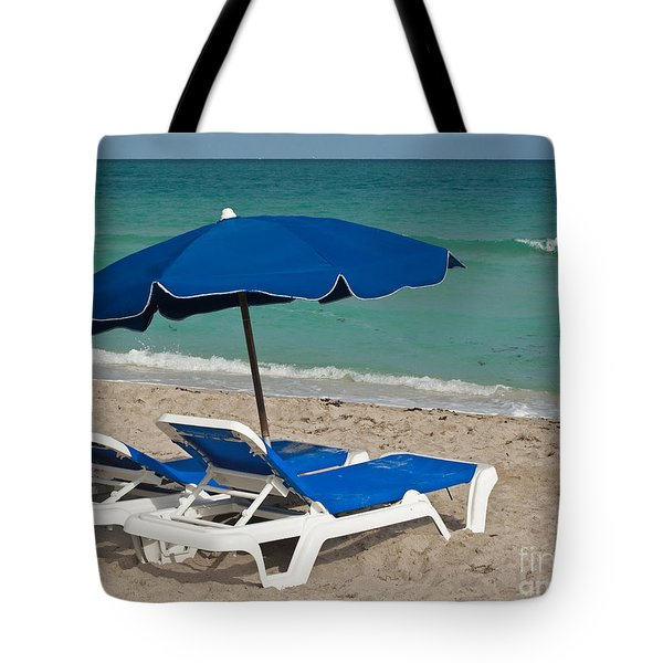 Beachtime Tote Bag by Barbara McMahon