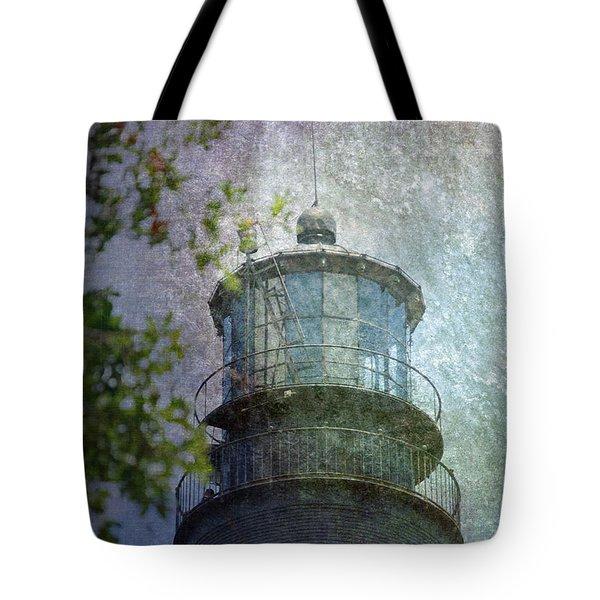 Beacon Of Hope Tote Bag by Judy Hall-Folde