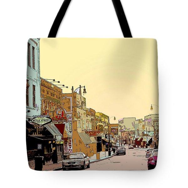 Beale Street Tote Bag by Barry Jones