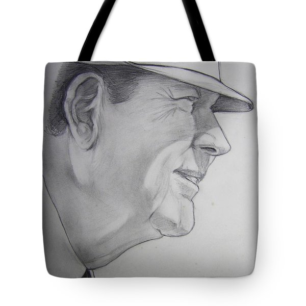 Bear Bryant Tote Bag by Nigel Wynter