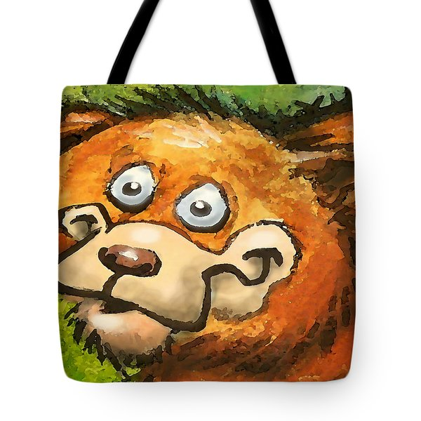Bear Tote Bag by Kevin Middleton
