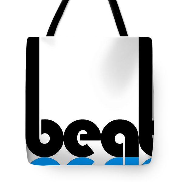 Beat Poster Tote Bag by Naxart Studio